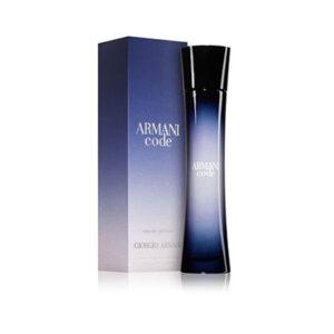 Giorgio Armani Code Eau De Perfume For Women 75ml